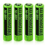 Replacement Panasonic NiMH AAA Battery for KX-TG1212B /KX-TG6633B /KX-TGC360 Phone Models- 4Pk