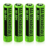 Replacement Panasonic NiMH AAA Battery for KX-TG313SK  /KX-TG6721AL  /KX-TGD213N  Phone Models- 4Pk