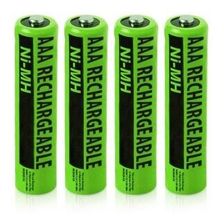 Replacement Panasonic NiMH AAA Battery for KX-TG313SK /KX-TG6721AL /KX-TGD213N Phone Models- 4Pk