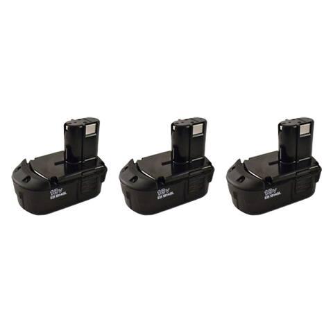 18V 2.0Ah NiCD Battery For HITACHI EB1820L EB1814SL BCC1812 C18DL EB1814 (3 Pack)