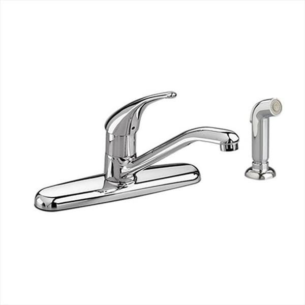 Colony Soft 1 Handle Kitchen Faucet With Separate Side Spray Shown