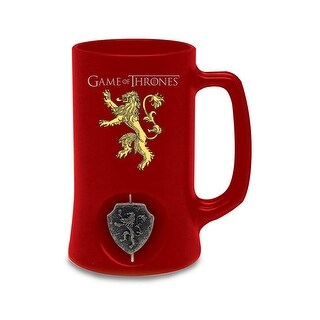 Game of Thrones Lannister Stein w/ Rotating Emblem