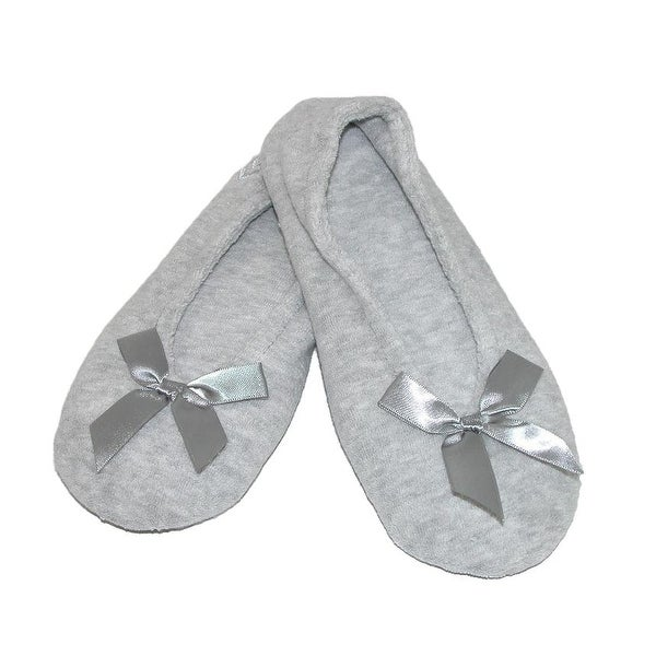 b36f4a899271 Shop Isotoner Women s Terry Classic Ballerina Slippers - Free ...