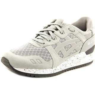 Asics Gel-Lyte III Youth Round Toe Synthetic Gray Sneakers