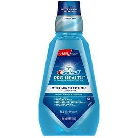 Crest Pro-Health Multi-Protection Mouthwash, Refreshing Clean Mint 16.90 oz