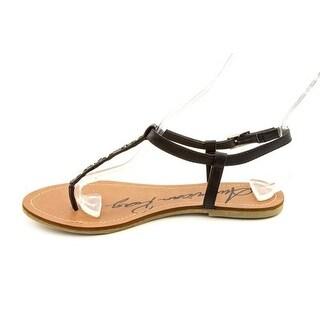 American Rag Women's Karlla T-strap Sandals in Black