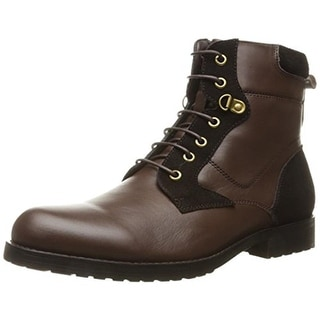 English Laundry Mens Task Casual Boots Leather Ankle - 7.5 medium (d)