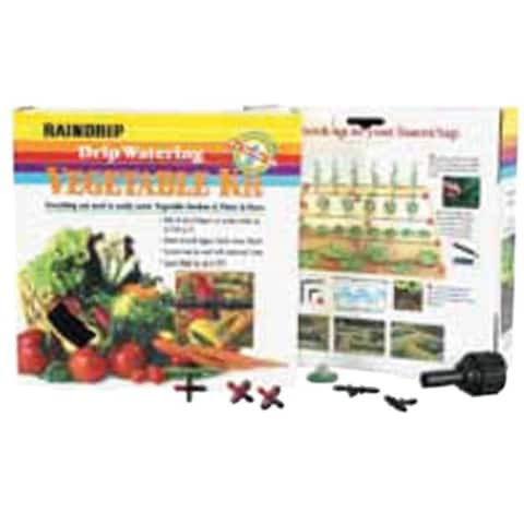 Drip Watering Vegetable Garden Kit with Anti Syphon