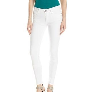 Buffalo David Bitton NEW White Womens Size 29 Straight Leg Denim Jeans