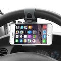 Insten Universal Car Steering Wheel Phone Holder in Assorted Colors - Thumbnail 3
