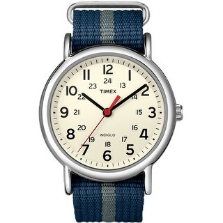 Timex Weekender Slip Navy/Grey Weekender Slip