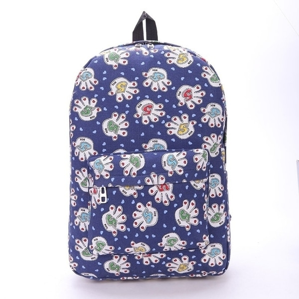 5d2f0704f1 Shop women backpacks fashion canvas printing backpacks - On Sale ...