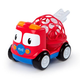 Oball Go Grippers Fire Truck - Red