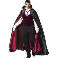 Vampire Gothic Costume Adult - Black