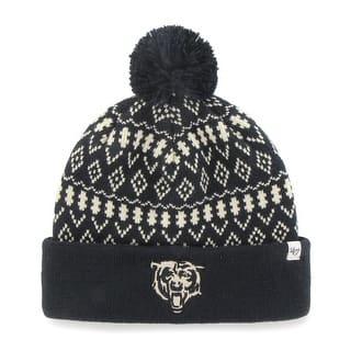 Chicago Bears Eileen Women's Navy Cuffed Knit Hat https://ak1.ostkcdn.com/images/products/is/images/direct/8e9b235d2389d4fc4c41fc8cf96c4cf6643a733b/Chicago-Bears-Eileen-Women%27s-Navy-Cuffed-Knit-Hat.jpg?impolicy=medium