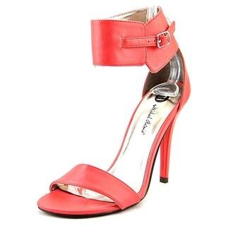 Michael Antonio Jude Women Open-Toe Synthetic Heels