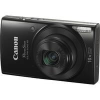 Canon PowerShot ELPH 190 IS Digital Camera (Black) (International Model)