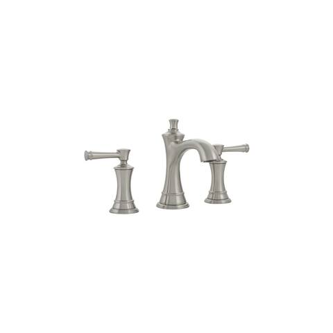 Mirabelle MIRWSCBE800 Beasley 1.2 GPM Widespread Bathroom Faucet with Pop-Up Drain Assembly