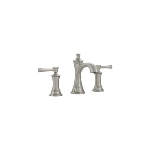 Mirabelle MIRWSCBE800 Beasley 1.2 GPM Widespread Bathroom Faucet with Pop-Up Drain Assembly -