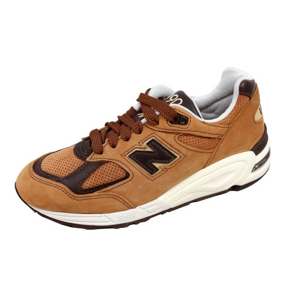 New Balance Men's 990 Classics Tawny Brown Made In USA M990DVN2