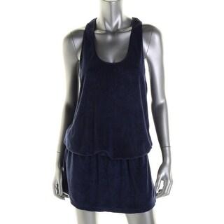 Splendid Womens French Terry Sleeveless Dress Swim Cover-Up - XS