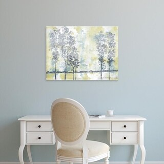 Easy Art Prints Studio W's 'Watercolor Mist II' Premium Canvas Art