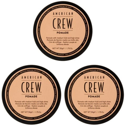 American Crew Pomade 3 oz (Pack of 3)