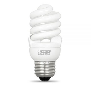 Feit BPESL14T2/2/RP Replacement Soft White T2 Twists CFL Bulbs, 13 Watts