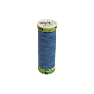 G30m 215 Gutermann Buttonhole Topstitch French Blue