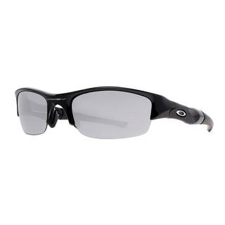 OAKLEY Sport Flak Jacket Unisex 03-881 Black w/ Black Iridium Lens Black Black Iridium Sunglasses - 58mm-22mm-135mm