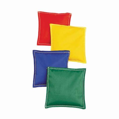 Bean Bags 5.75X5.75 12Pk Cloth Cvr Plastic Bead Filling