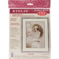 "Old Photo: Riviera Counted Cross Stitch Kit-10.25""X15"" 14 Count"
