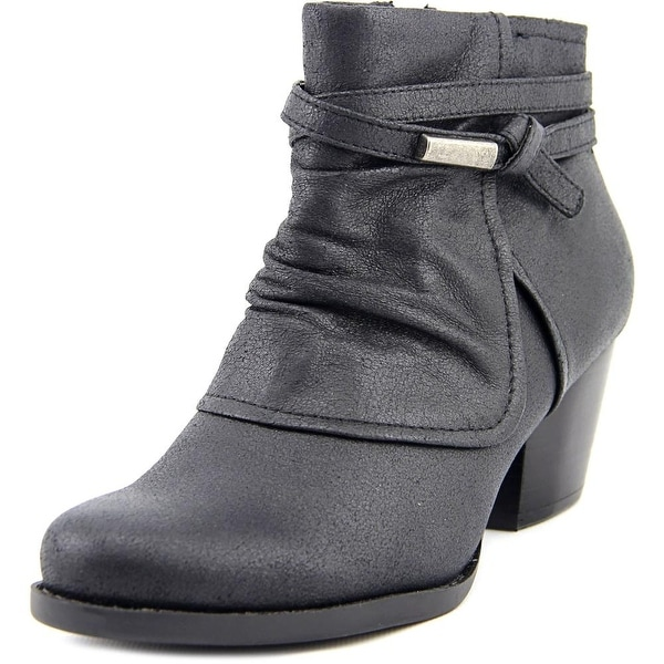 Baretraps Rhapsody Women Round Toe Synthetic Black Ankle Boot