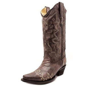 Corral E1046   Pointed Toe Leather  Western Boot