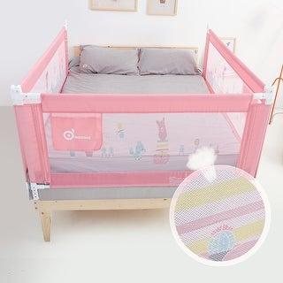 Link to 150CM/59'' Baby Bed Rail Adjustable Kids Infant Toddler Safety Guard Crib Side - M Similar Items in Child Safety