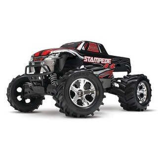 Traxxas T1X-670541BLK Stampede 4 x 4 Brushed Monster Truck, Black