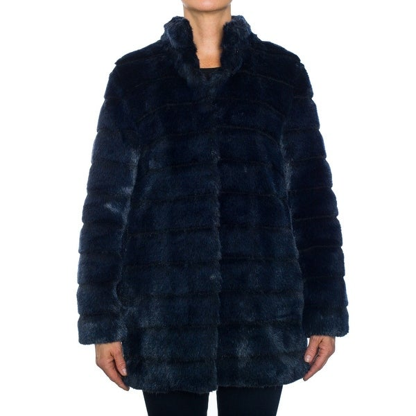 Laundry by Shelli Segal Faux Fur Coat