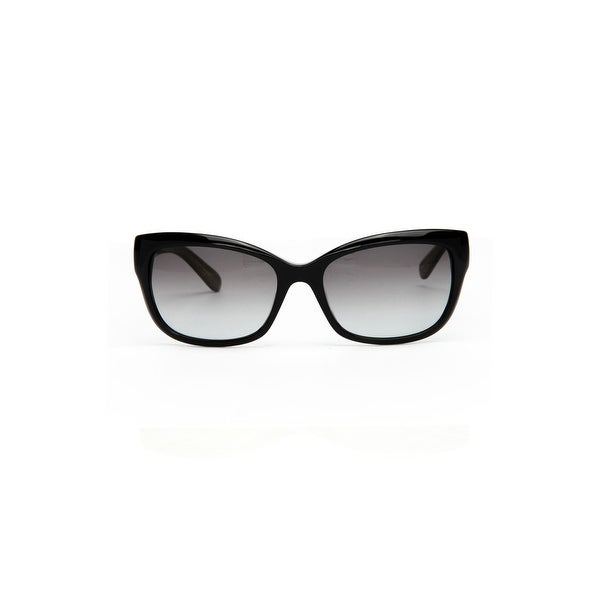 e616e31cbd Kate Spade Johanna Women  x27 s Plastic Sunglasses - Black Gold Glitter -  One