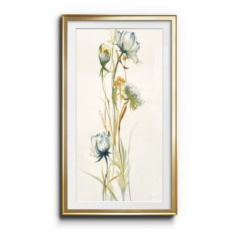 LATE SUMMER WILDFLOWERS I- Premium Gallery Wrapped Print - Ready to Hang