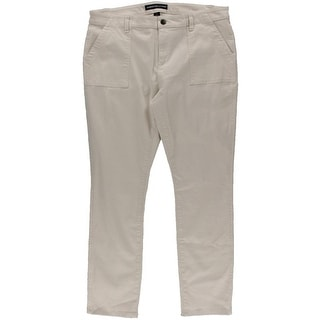 American Living Womens Twill Low Rise Straight Leg Pants
