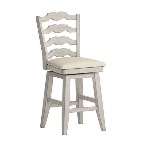 Eleanor French Ladder Back Swivel Chair by iNSPIRE Q Classic