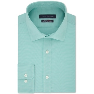 Link to Tommy Hilfiger Mens Button-Down Shirt Professional Athletic Fit Similar Items in Big & Tall