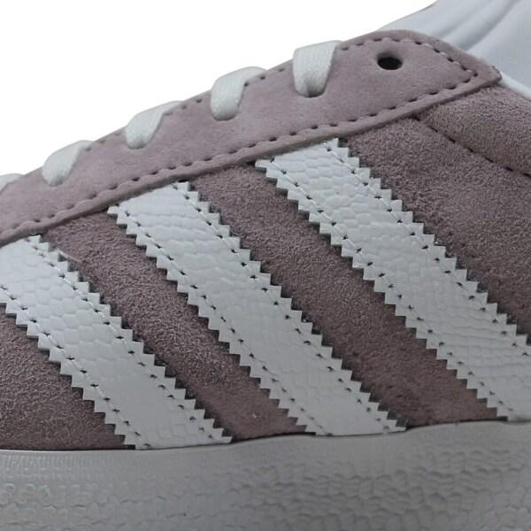 Adidas Gazelle W White/Light-Purple Ee5540 Women's - 5.5