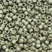 Miyuki Delica Seed Beads 11/0 Galvanized Matte Aloe DB1170 7.2 Grams
