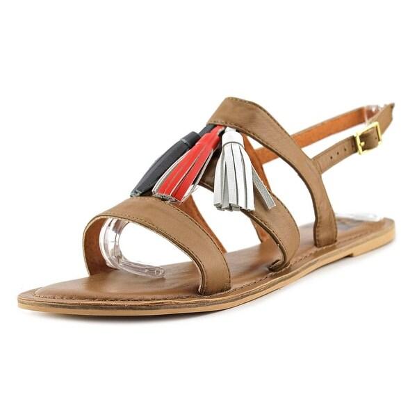 29 Porter Rd Quinn Open-Toe Leather Slingback Sandal