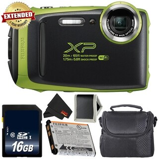 Fujifilm FinePix XP130 Waterproof Digital Camera Bundle - Intl Model