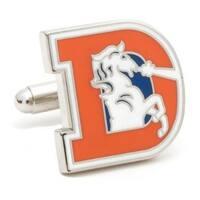 Vintage Broncos Cufflinks - Orange