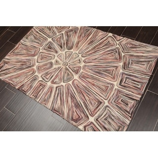 """Link to Hand Woven Wool Flatweave Oriental Area Rug (3'3""""x5') - 3'3"""" x 5' Similar Items in Patterned Rugs"""