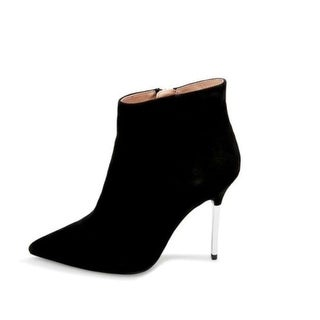 Steve Madden Womens Danya Leather Pointed Toe Ankle Fashion Boots
