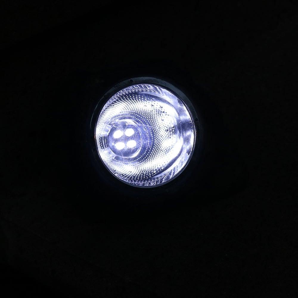 Sunnydaze Decorative Garden Rock Solar Light with White LED Light Set of 4